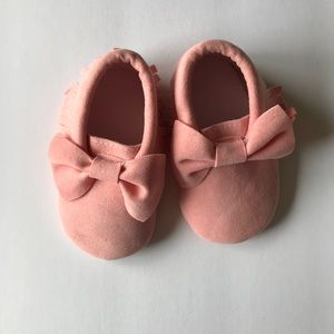 Other - Pink Baby Girl Moccs size 3-4